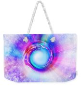 Circle Eye  Weekender Tote Bag by Setsiri Silapasuwanchai