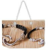 Circle Hook Bracelet Weekender Tote Bag