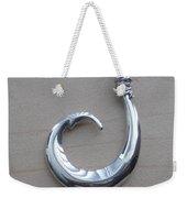 Circle Hook Pendant Weekender Tote Bag