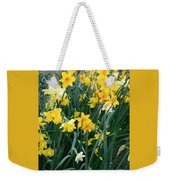 Circle Of Daffodils Weekender Tote Bag