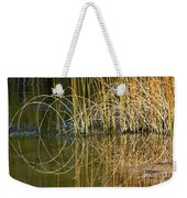 Circle Of Fall In Yellowstone Weekender Tote Bag