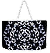 Circle Of Stars And Flowers Weekender Tote Bag