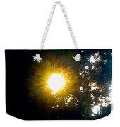 Circle Of Sunglow Through Pine Weekender Tote Bag