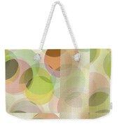 Circle Pattern Overlay II Weekender Tote Bag