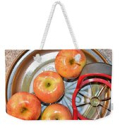 Circles 1 - Apples Weekender Tote Bag