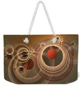 Circles And Rings Weekender Tote Bag