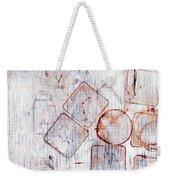 Circles And Squares Weekender Tote Bag