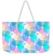 Circles In Pastel Weekender Tote Bag