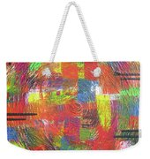 Circles Weekender Tote Bag by Jacqueline Athmann