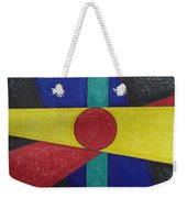 Circles Lines Color #4 Weekender Tote Bag