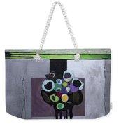 Circles Of Celadon Weekender Tote Bag