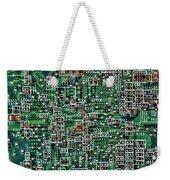 Circuit Board Weekender Tote Bag