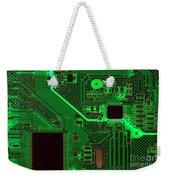 Circuitry Weekender Tote Bag