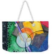 Circular Confusion Weekender Tote Bag