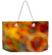 Circular Flow Christmas Abstract Weekender Tote Bag