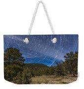 Circumpolar Star Trails Over The Gila Weekender Tote Bag