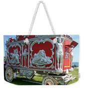 Circus Car In Red And Silver Weekender Tote Bag