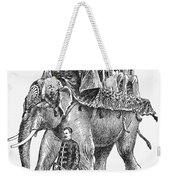 Circus: Elephant, C1901 Weekender Tote Bag