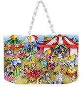 Circus In Town Weekender Tote Bag