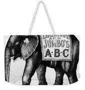 Circus: Jumbo, C1882 Weekender Tote Bag