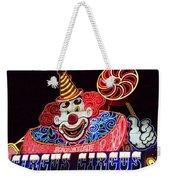 Circus Neons Weekender Tote Bag