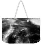 Cirrus Clouds With Nature Patterns  Weekender Tote Bag