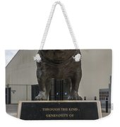 Citadel Bulldog Weekender Tote Bag