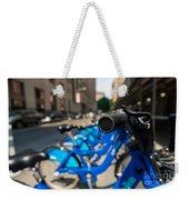 Citibike Handle Manhattan Color Weekender Tote Bag