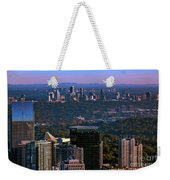 Cities Of Atlanta Weekender Tote Bag