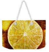 Citrus Weekender Tote Bag