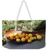 Citrus Fruits Weekender Tote Bag