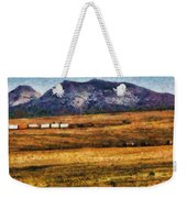 City - Arizona - Southwestern Cargo Train Weekender Tote Bag