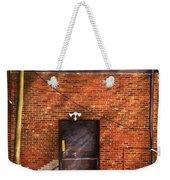 City - Door - The Back Door  Weekender Tote Bag