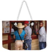 City - Lancaster Pa - The Train Station Weekender Tote Bag