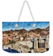 City - Nevada - Hoover Dam Weekender Tote Bag
