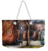 City - Newark Nj - Always Waiting  Weekender Tote Bag