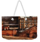 City - Ny - New York History Weekender Tote Bag