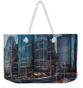 City - Ny - The New City Weekender Tote Bag