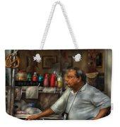City - Ny - The Pretzel Vendor Weekender Tote Bag
