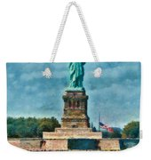 City - Ny - The Statue Of Liberty Weekender Tote Bag