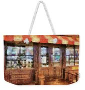 City - Ny 77 Water Street - Candy Store Weekender Tote Bag
