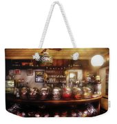City - Ny 77 Water Street - The Candy Store Weekender Tote Bag by Mike Savad