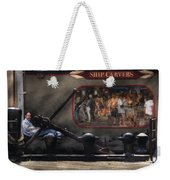 City - Ny South Street Seaport - Ship Carvers Weekender Tote Bag