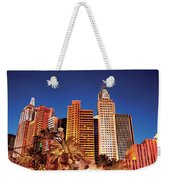 City - Vegas - Ny - The New York Hotel Weekender Tote Bag