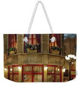 City - Vegas - Paris - Le Cafe Weekender Tote Bag
