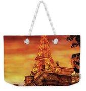 City - Vegas - Paris - The Paris Hotel Weekender Tote Bag