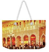 City - Vegas - Venetian - Life At The Palazzo Weekender Tote Bag