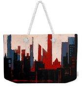 City Abstract No. 1 Weekender Tote Bag