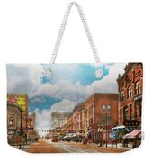 City - Arkansas - Main St 1925 Weekender Tote Bag