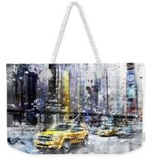 City-art Nyc Collage Weekender Tote Bag